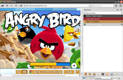 angry birds html5 game on windows